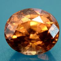 Natural Yellowish Brown Zircon