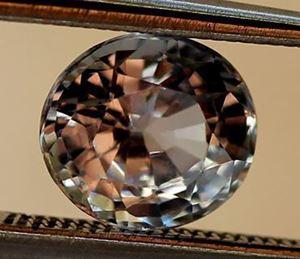 Natural White sapphire
