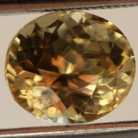 Natural Yellow Zircon