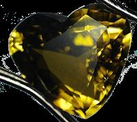Chrysobery - Heart Shape